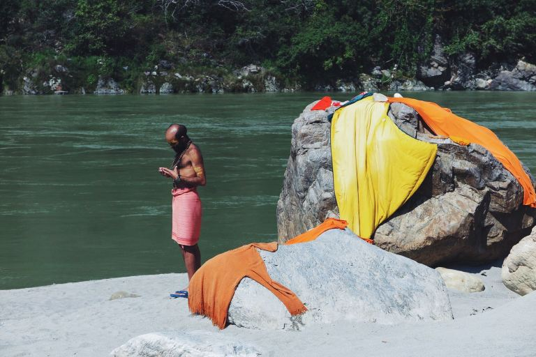 Dip and tan | Rishikesh, India