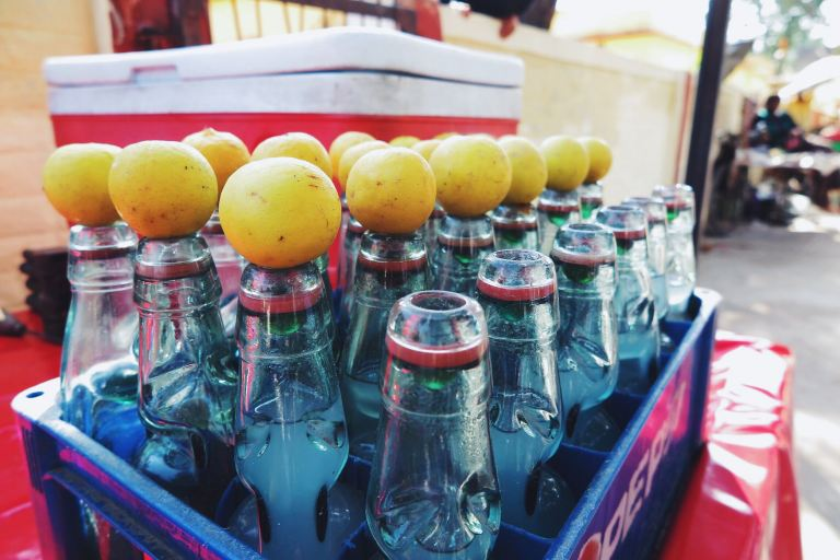 Lemon cream soda | Rishikesh, India