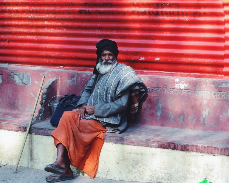 Wisdom in his eyes | Rishikesh, India