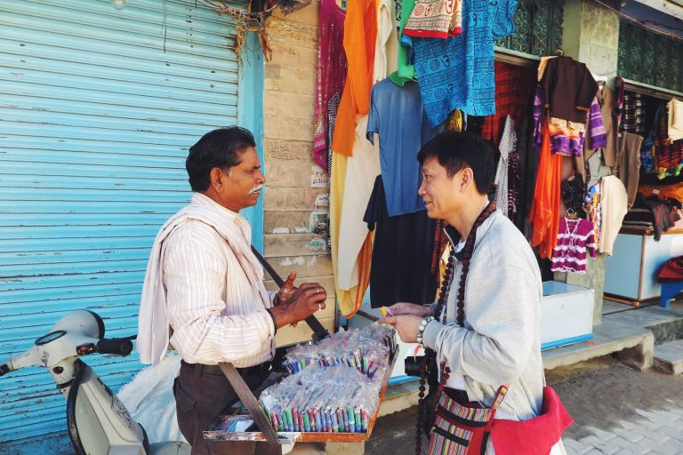 Indian-Chinese bartering | Rishikesh, India