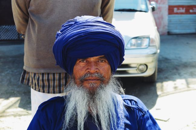 One of the elders from the Nihang tribe.